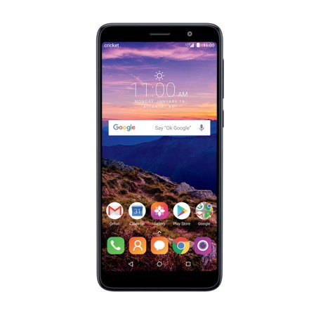 Cricket Prepaid Alcatel Onyx (32GB) - Black