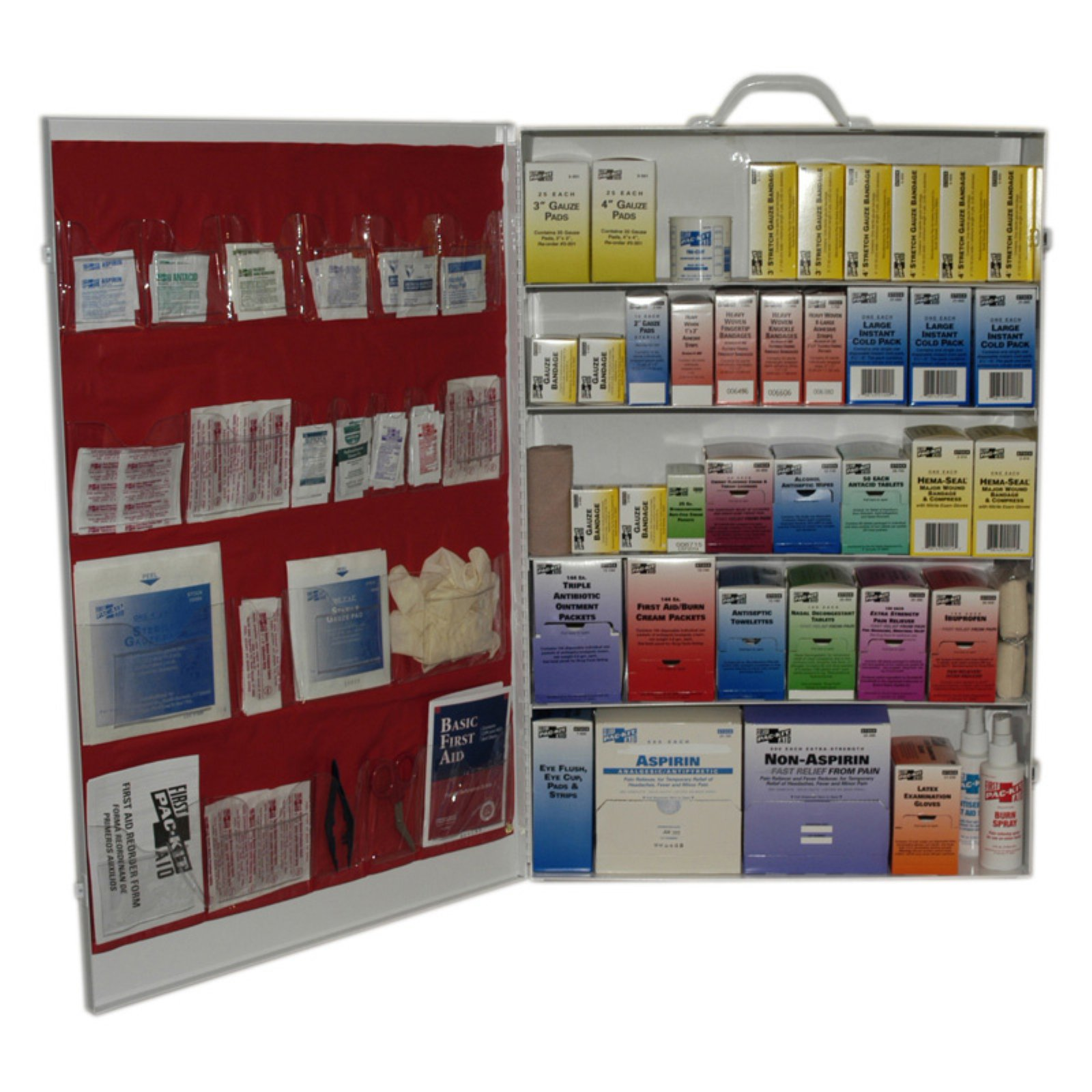 Pac-Kit 5-Shelf Industrial First Aid Station