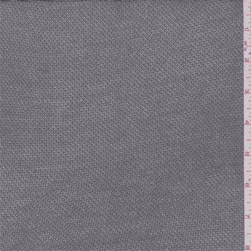 Nickel Grey Rayon Sweater Knit, Fabric By the Yard