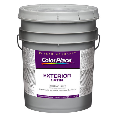 ColorPlace Exterior Satin Accent Base Paint, 5 gal