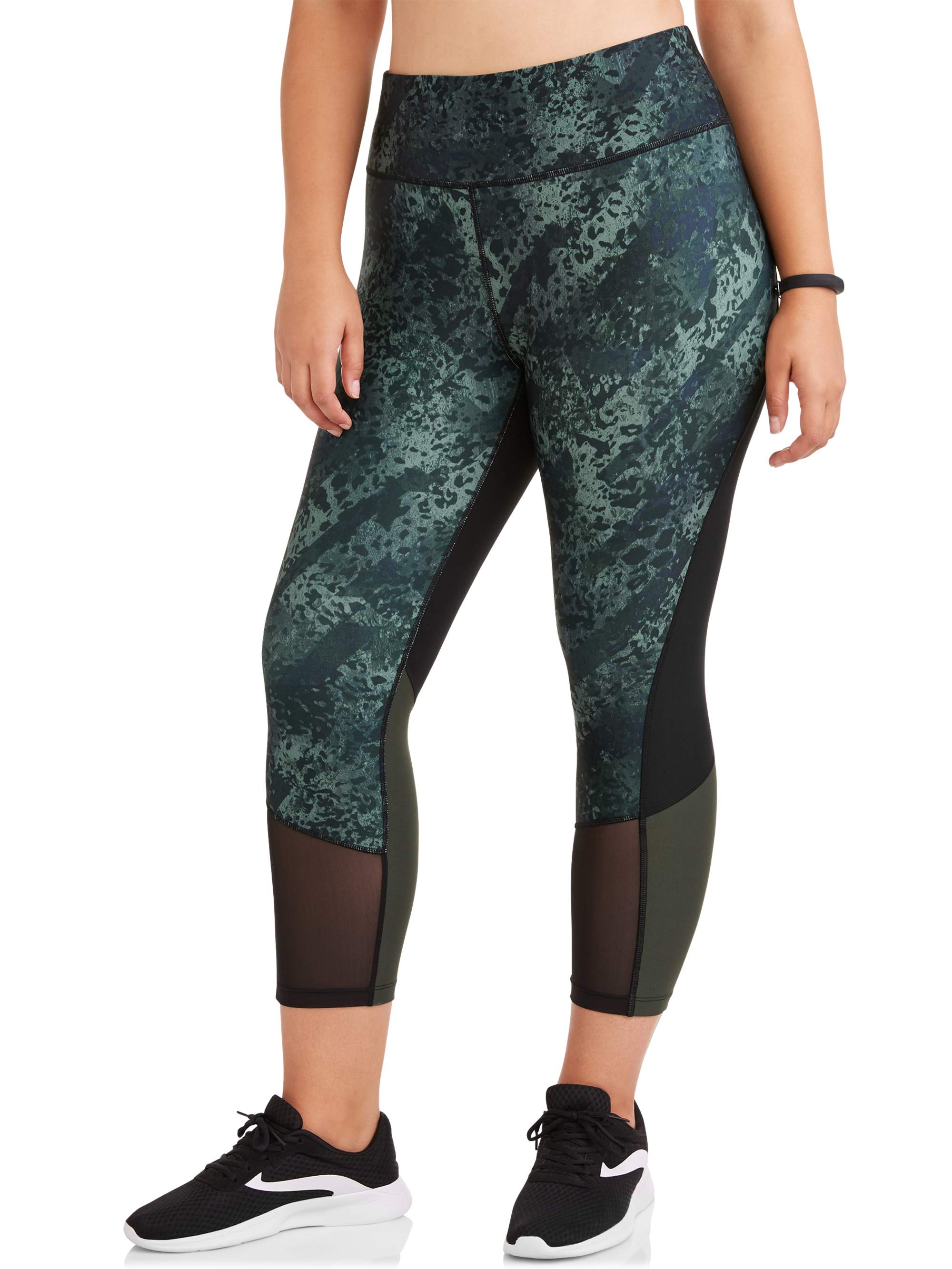Women's Plus Active Look Out Capri 22 Inch Inseam