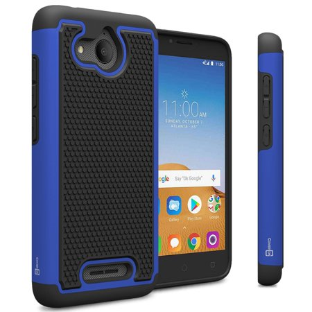 CoverON Alcatel Tetra / 5041C Case, HexaGuard Series Hard Phone Cover
