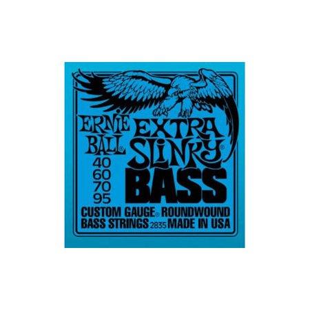 Extra Slinky (Ernie Ball Extra Slinky Bass Guitar Strings )
