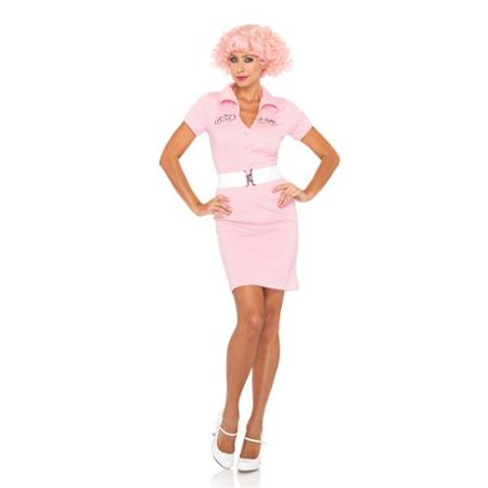 Grease Beauty School Drop Out Costume Dress Adult Medium/Large 10-14 (Dresses From Grease)
