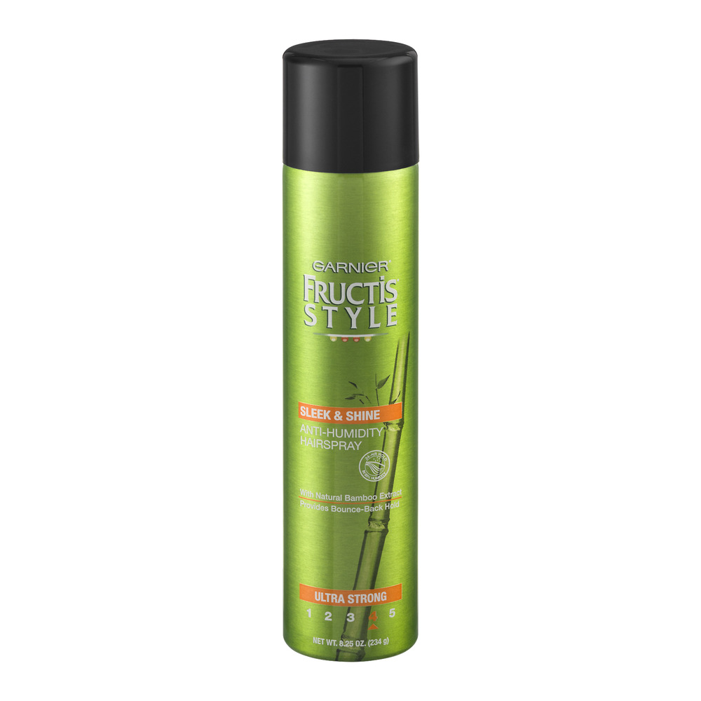 style hair spray garnier fructis style sleek amp shine anti humidity 4894