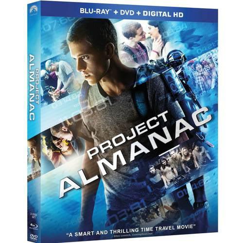 Project Almanac (Blu-ray + DVD + Digital HD)