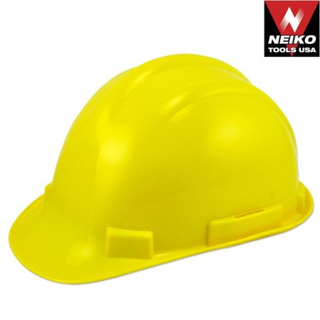 Yellow Color Safety Hard Hat Hardhat Plastic Protective Construction Helmet