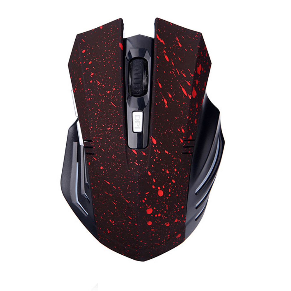 New Fashion 6D,2.4GHz Mice Mouse Cordless USB Receiver PC Computer Wireless For Laptop GD