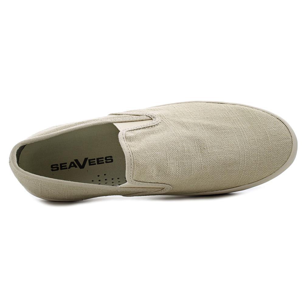 Seavees Baja Slip On Hemp   Round Toe Synthetic  Sneakers