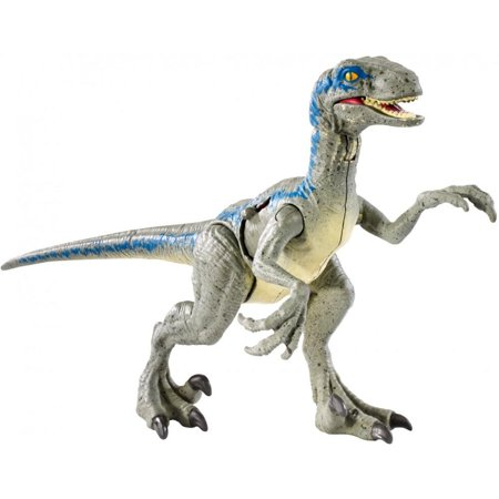 Jurassic World Battle Damage Velociraptor u0022Blueu0022