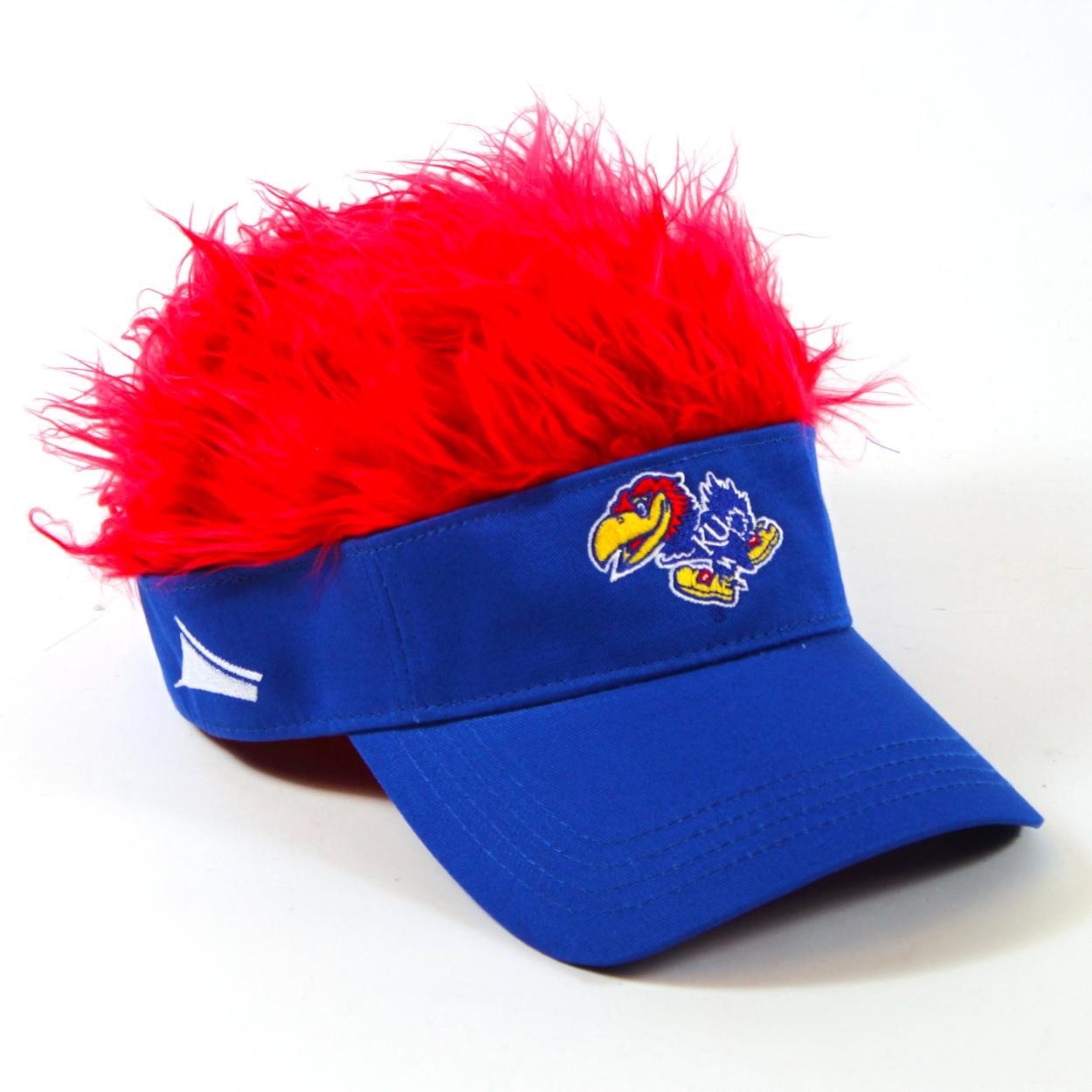 Flair Hair Red Kansas Jayhawks Kansas Jayhawks C1CKANFH