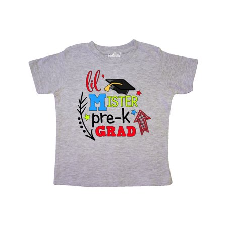Lil Mister Pre-K Grad with Arrows Toddler T-Shirt](Pre K Graduation Gifts)
