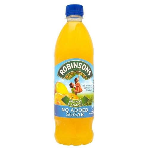 Cabela's Robinsons Orange and Mango No Sugar. Case of 12 ...
