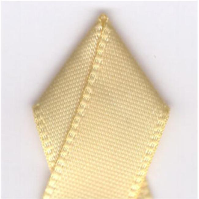 Papilion R074408030614500Y .13 in. Double-Face Satin Ribbon 500 Yards - Chamois - image 1 de 1