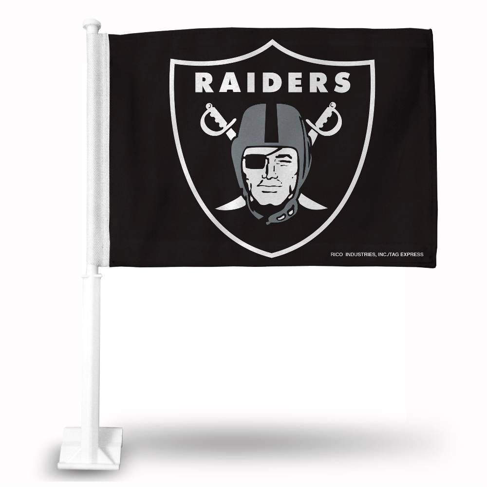 NFL Oakland Raiders Car Flag