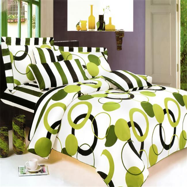 Blancho Bedding MINIDUVET-MF01029-TWIN Artistic Green 2 Piece Twin Mini Comforter Cover-Duvet Cover Set