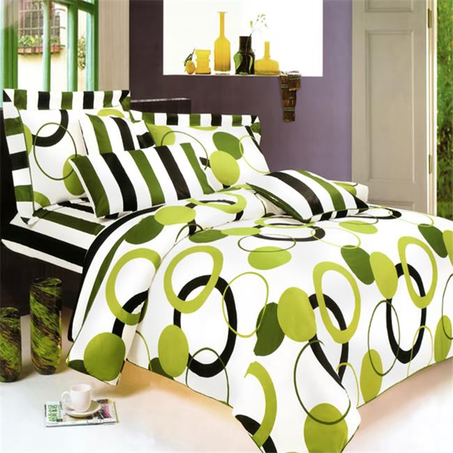 MINIDUVET-MF01029-TWIN Artistic Green 2 Piece Twin Mini Comforter Cover-Duvet Cover Set