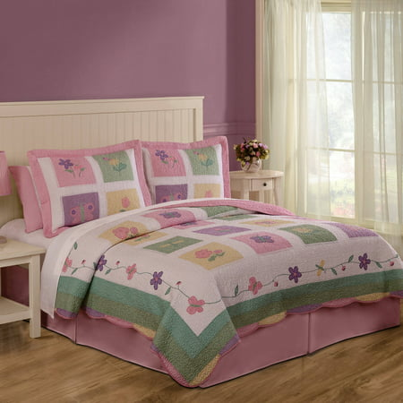 Spring Meadow Bedding Quilt Set