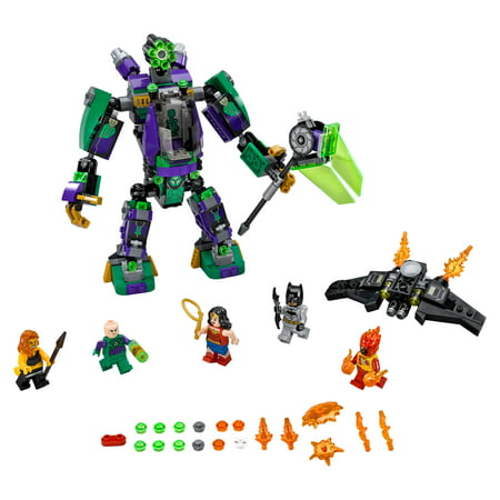 LEGO Super Heroes Lex Luthor Mech Takedown 76097 (406 Pieces)