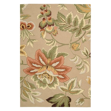French Country Kitchen Rugs (Fantasy Floral Images French Country Area Rug )