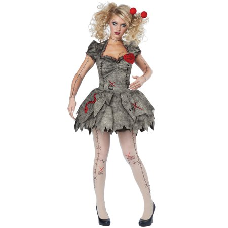 Voodoo Dolly Women's Adult Halloween Costume, L