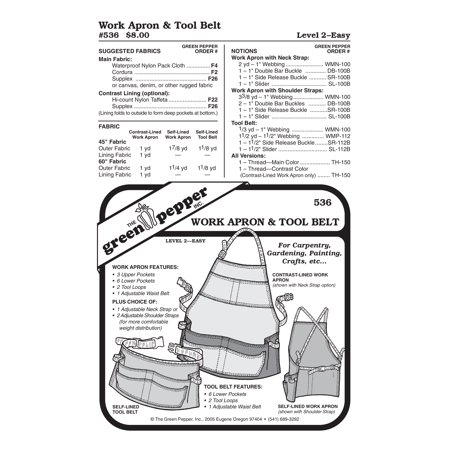 Work Apron Sewing Pattern ()