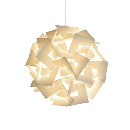 Akari Lanterns Medium Squares 18 Wide Warm White Glow Modern Unique Ceiling Hanging Light Fixtures Swag Plug In Or Hardwire As Pendant Lamp Shade
