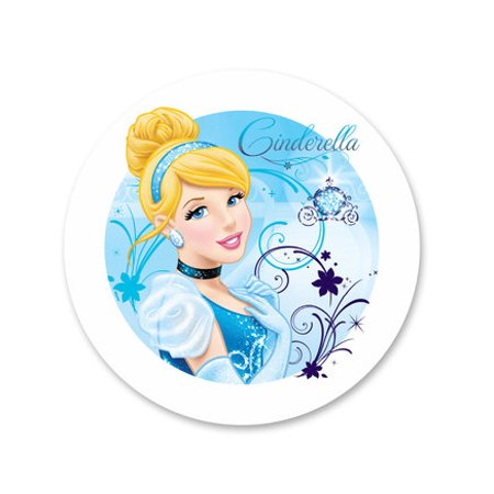 Cinderella Edible Icing Image Cake Decoration Topper -1/4 Sheet - Cinderella Cake Topper