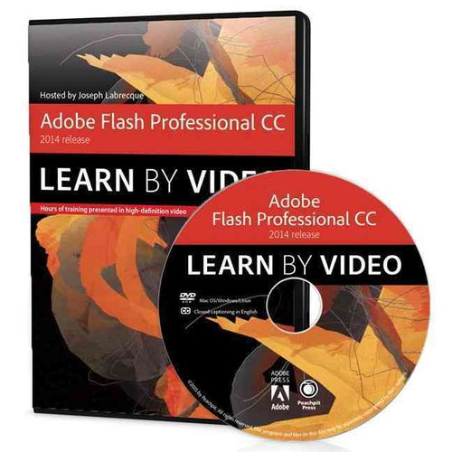 Adobe Flash Professional CC Learn by Video 2014