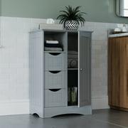 Ashland Collection 1-Door, 3-Drawer Floor Cabinet