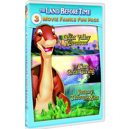 The Land Before Time Ii Iv 3 Movie Family Fun Pack
