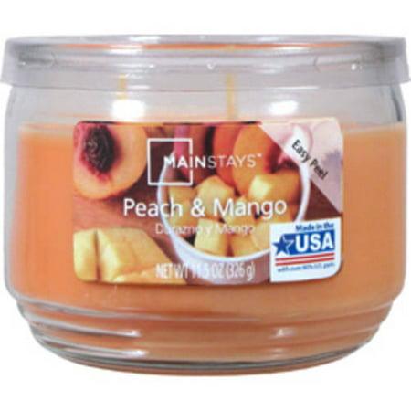 Mainstays 11.5 oz Peach Mango Candle