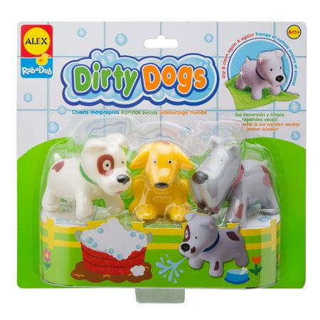 ALEX Toys Rub a Dub Dirty Dogs (Rub A Dub Three Men In A Tub)