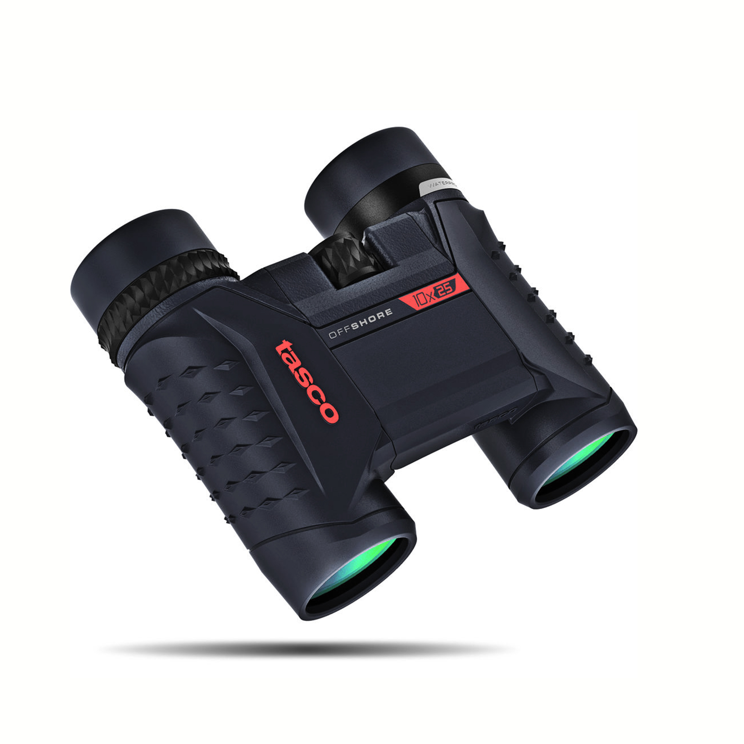 TASCO 10x25 Blue Roof 200125 Binocular Waterproof by Tasco