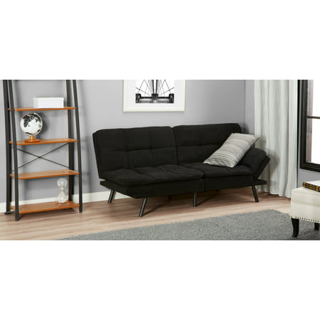 Mainstays Memory Foam Futon Multiple Finishes