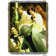 "Lucas Films' Star Wars ""Small Rebel Force"" 48"" x 60"" Woven Tapestry Throw"