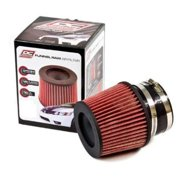 DC Sports DCF300 Dry Element No-Oil Replacement Air Filter, Universal, 3.00 In. Inlet.