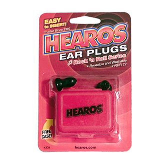ROCK  N ROLL EAR PLUGS 1 PAIR