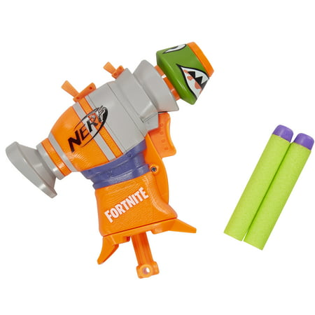 Fortnite RL Nerf MicroShots Dart-Firing Toy Blaster and 2 Nerf Darts