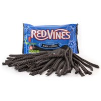 Red Vines Black Licorice Twists, 16oz Bag