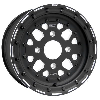 156 Douglas Sector Zero Beadlock Wheel 15x7 6 0 1 0 Black For