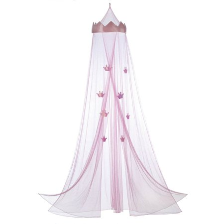 Princess Bed Canopy, Girls Bedroom Canopies, Hanging Pink Princess Bed  Canopy