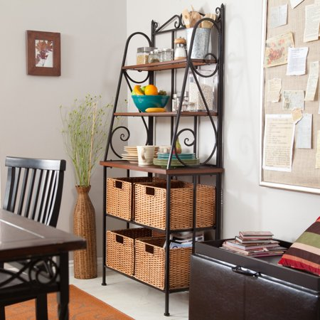 Belham Living Sutter Bakers Rack with Baskets