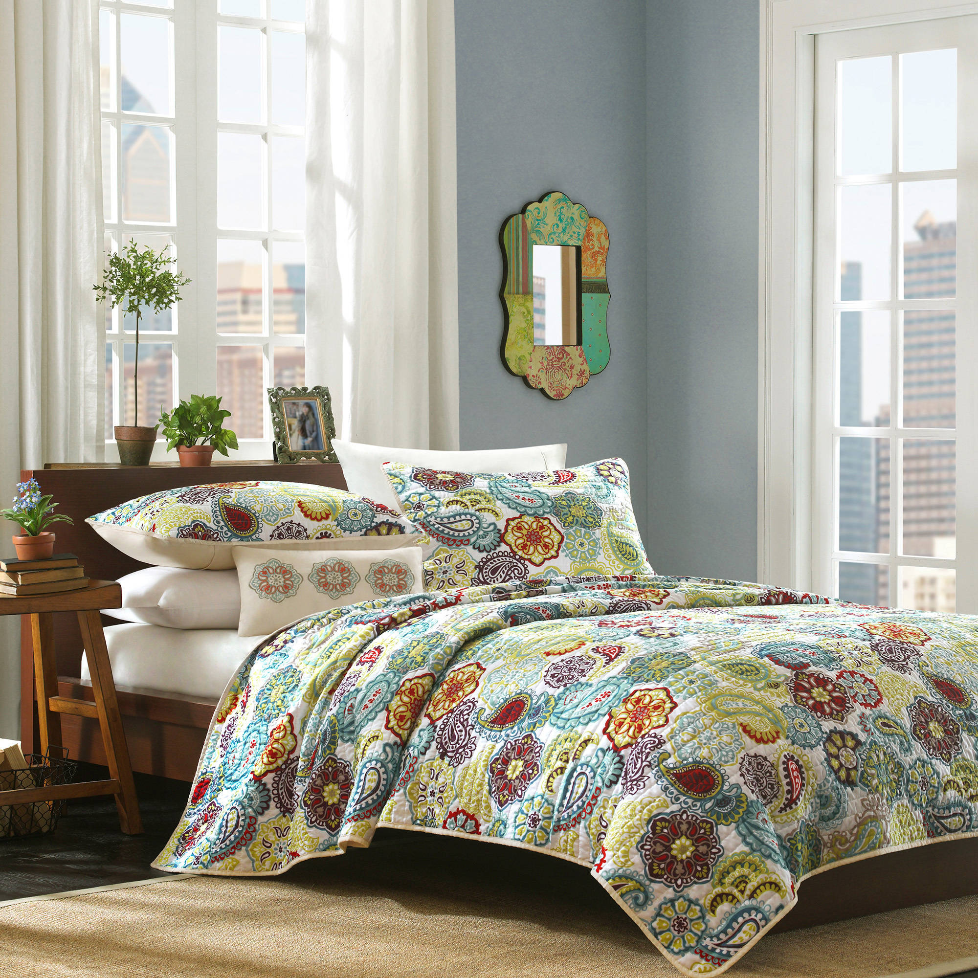 Home Essence Apartment Tula Quilt Set by Generic