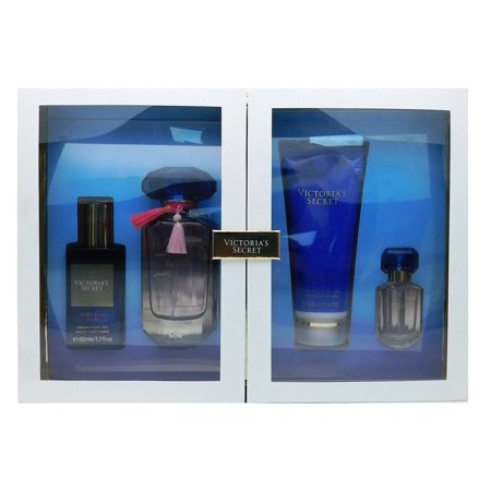 Victoria's Secret Very Sexy Now Gift Set: Fragrance Oil 1.7 Fl Oz., Eau De Parfum 1.7 Fl Oz. and .25 Fl Oz., Fragrance Lotion 3.4 Fl (Victoria Secret Deluxe Eau De Parfum Gift Set)