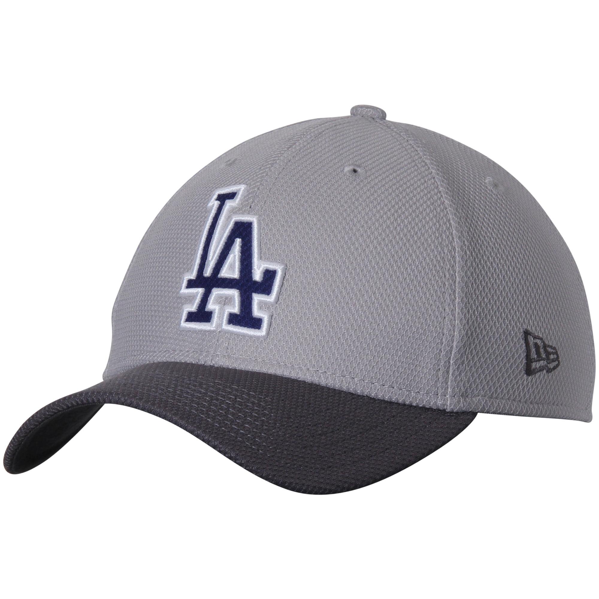 Los Angeles Dodgers New Era Team Grayed 39THIRTY Flex Hat - Gray/Graphite