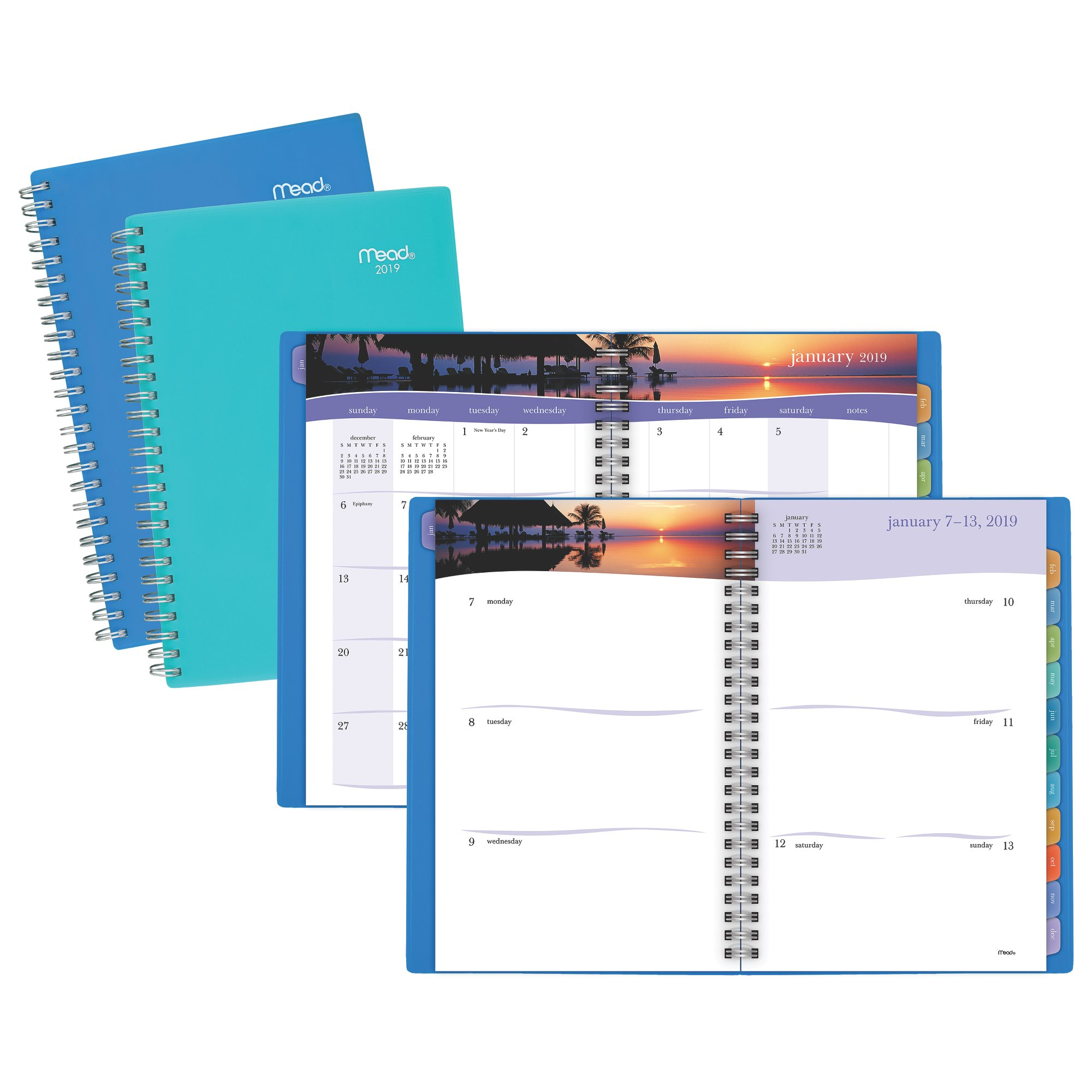 Mead Tropical Weekly-Monthly Planner - Weekly - Monthly Planners
