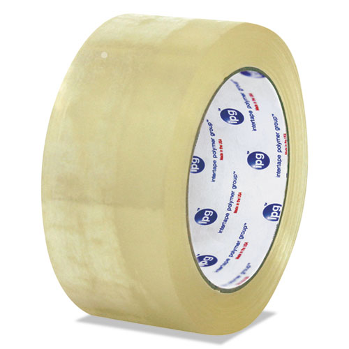 United Facility Supply General-Purpose Box Sealing Tape, 72mm x 100m, Clear, 24/Carton 934419