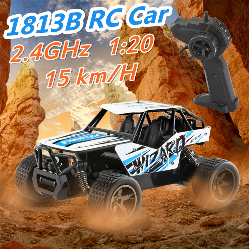 1:20 2.4GHz 4WD High Speed Radio Fast Remote Control RC Car Off-Road Truck RTR Toy For Children Christmas Gift