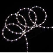Led rope lights 288 commericial grade pure white led indooroutdoor christmas rope lights on a spool aloadofball Choice Image